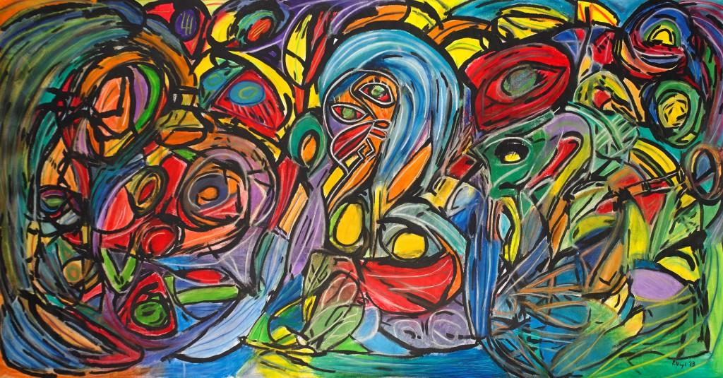 Miami-Artist-Peter-Vigil-Garden of Eden